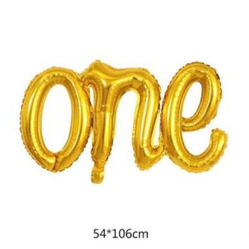 ONE Folyo Balon Gold